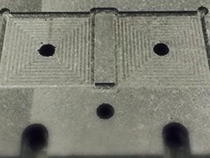 IGBT実装用治具部品-半導体用位置決め枠